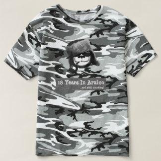 Camiseta T-shirt oficial do 18o aniversário do poço do urso