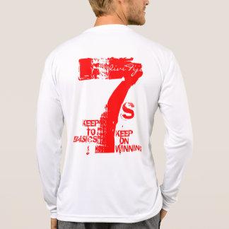 Camiseta T-shirt oficial do desgaste do fã de DiviFiji 7s