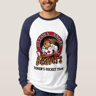 Camiseta T-shirt OFICIAL do slogan dos castores irritados