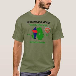 Camiseta T-shirt Op da bandeira da divisão de Houeshold