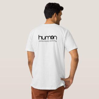 Camiseta T-shirt orgânico combinado original do Humon dos