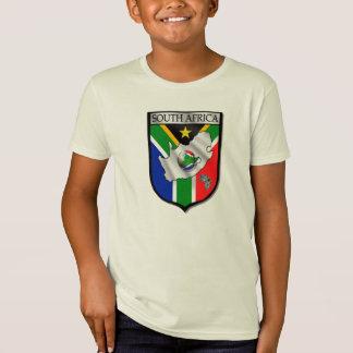 Camiseta T-shirt orgânico do futebol de África do Sul do