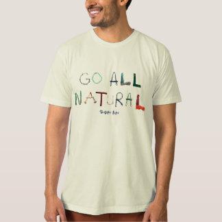 Camiseta T-shirt orgânico do roupa americano