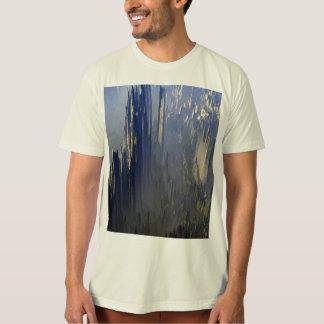 Camiseta T-shirt orgânico do roupa americano dos homens