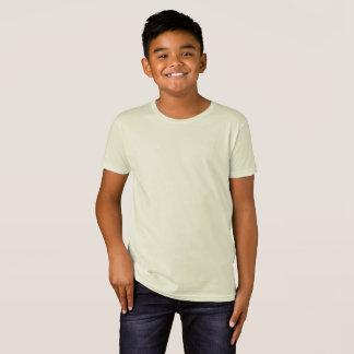 Camiseta T-shirt orgânico do roupa americano dos miúdos