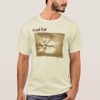 Camiseta T-shirt orgulhoso da adopção do pai