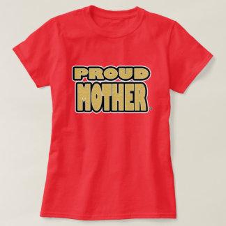 Camiseta T-shirt orgulhoso da frase do ouro da mãe