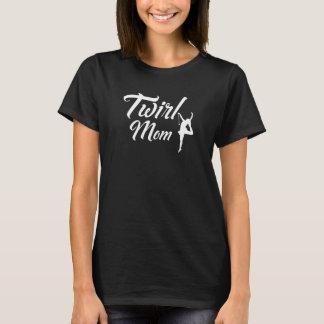 Camiseta T-shirt orgulhoso da mamã da ginástica do pai da