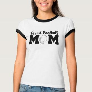 Camiseta T-shirt orgulhosos da mamã do futebol