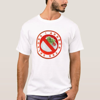 "Camiseta T-shirt Original ""para as teus alfaces"" Kiki"