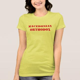 Camiseta T-shirt ortodoxo macedónio