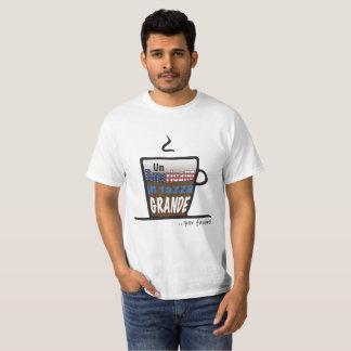 Camiseta T.shirt para amantes do café