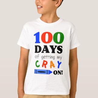 Camiseta T-shirt para comemorar 100 dias do jardim de