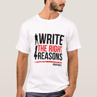 Camiseta T-shirt para escritores