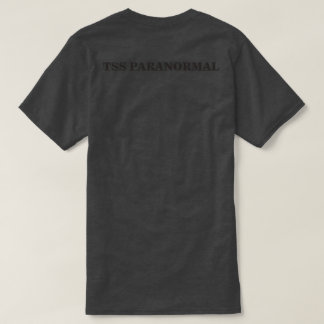 Camiseta T-shirt Paranormal Subdued do TSS preto