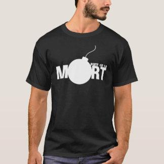 """Camiseta T-shirt """"partido de la mort"""" Noir"""