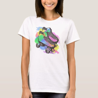 Camiseta T-shirt Pastel do skate