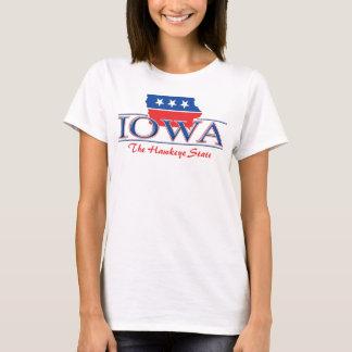 Camiseta T-shirt patriótico de Iowa
