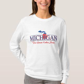 Camiseta T-shirt patriótico de Michigan