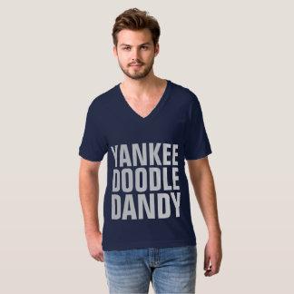 Camiseta T-shirt patrióticos, DÂNDI do DOODLE do IANQUE