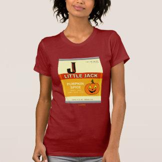 Camiseta T-shirt pequeno da especiaria da abóbora de