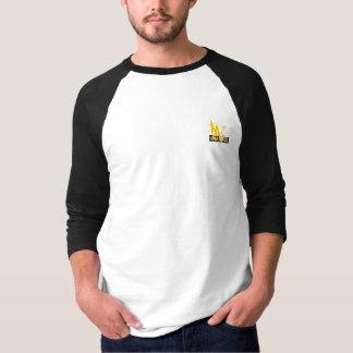 Camiseta T-shirt pequeno do bolso da parte dianteira do