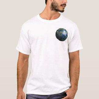 Camiseta T-shirt pequeno do mundo