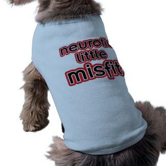 Camiseta T-shirt pequeno neurótico do animal de estimação d