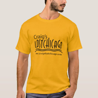 Camiseta T-shirt perdido da Chicago de Craig