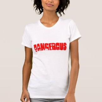 Camiseta T-shirt perigoso