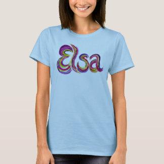 Camiseta T-shirt personalizado de Elsa