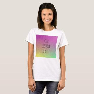 Camiseta T-shirt personalizado do papel de parede do
