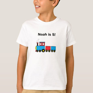 """Camiseta T-shirt personalizado do """"trem"""""""