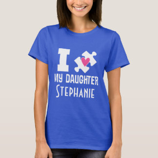 Camiseta T-shirt personalizado filha da consciência do