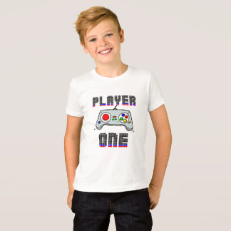 CAMISETA T-SHIRT PLAYER ONE - GAME TEEN