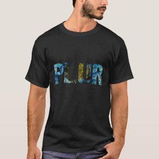 """Camiseta T-shirt """"PLUR de EDM PLUR dos PONTOS"""" - ED"""