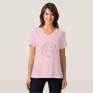 Camiseta T-shirt pobre do grilo para mulheres