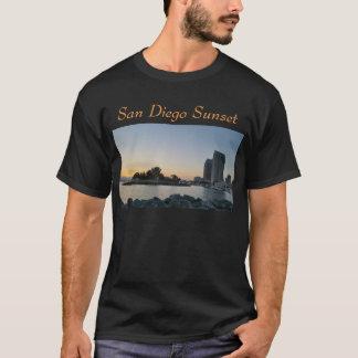 Camiseta T-shirt - por do sol de San Diego