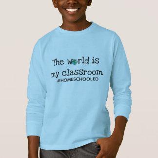Camiseta T-shirt por muito tempo sleeved da juventude