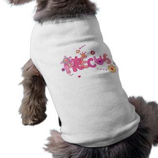 Camiseta T-shirt precioso do cão
