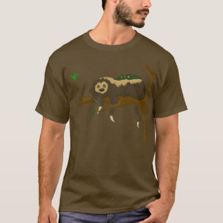 Camiseta T-shirt preguiçoso da preguiça