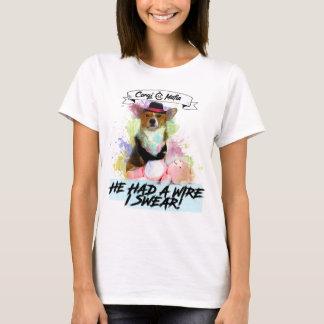 Camiseta T-shirt prendido máfia do ursinho do Corgi