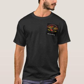 Camiseta T-shirt preto com logotipo/callsign de SBS