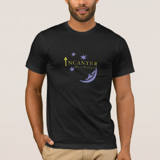 Camiseta T-shirt preto de alta qualidade da bruxaria dos