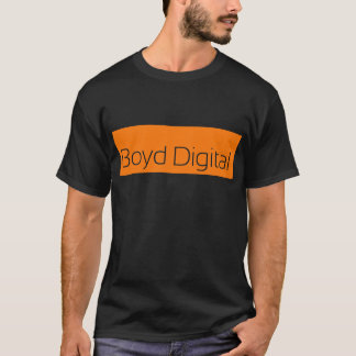 Camiseta T-shirt preto de Boyd Digital