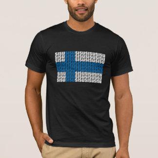 Camiseta T-shirt preto de Sisu