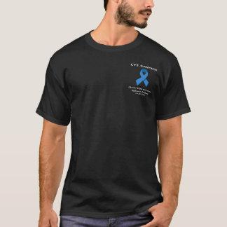 Camiseta T-shirt preto do CFS - design do bolso