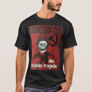 Camiseta t-shirt preto do kronstadt