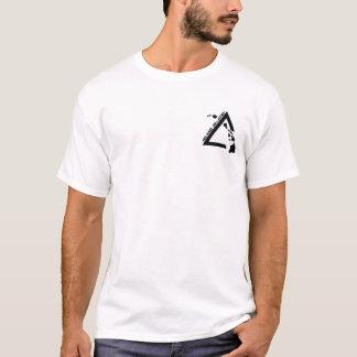 Camiseta T-shirt preto do logotipo dos homens básicos