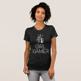 Camiseta T-shirt preto e branco da menina